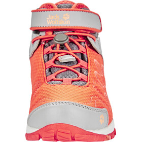 Jack Wolfskin Portland Texapore Mid Shoes Kinder hot coral